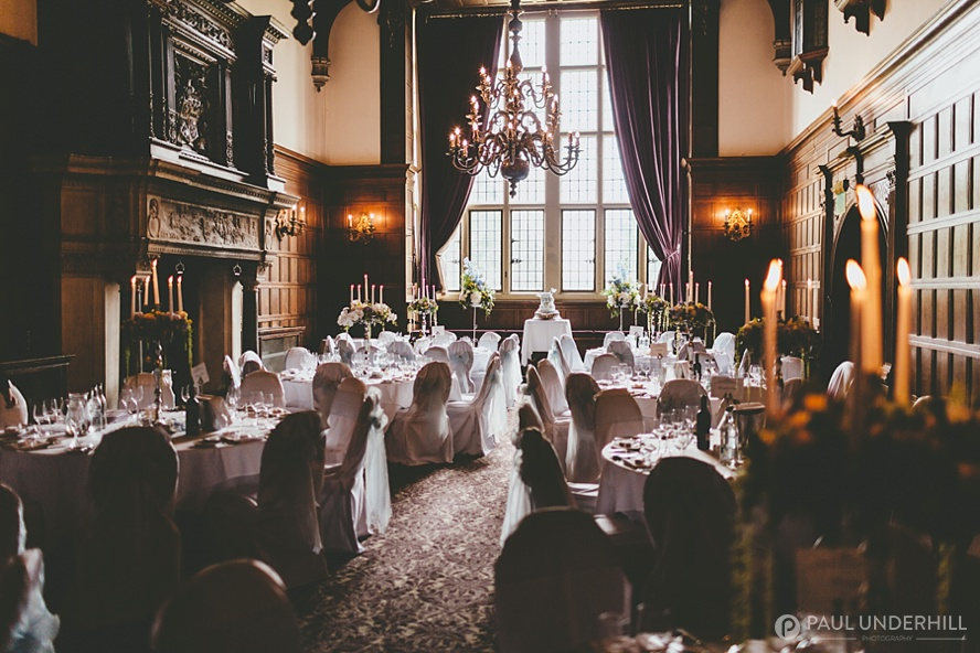 The Grand Hall at Rhinefield House