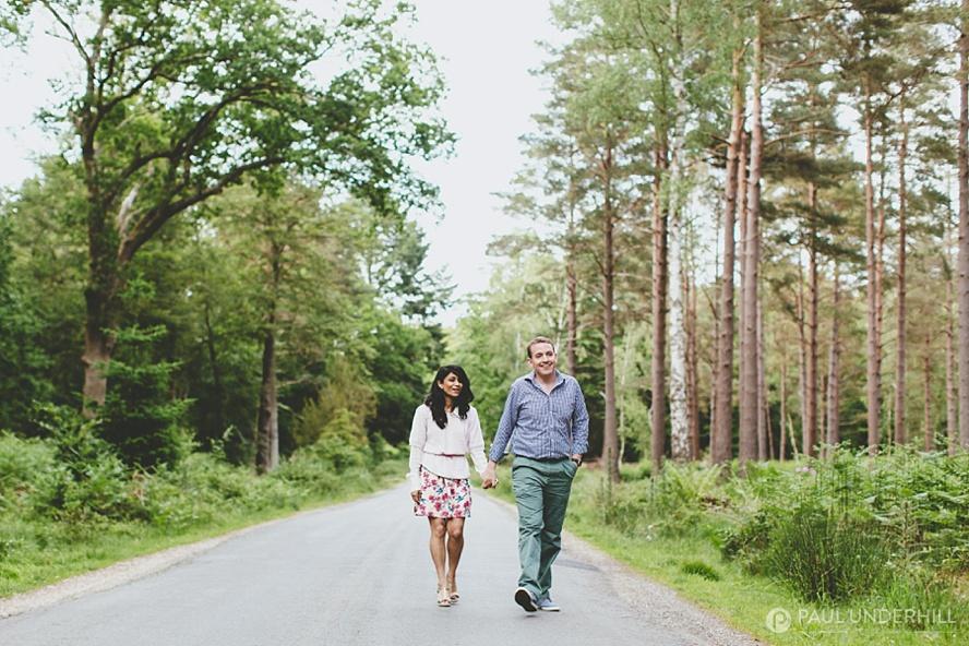 Wedding couple portraits Hampshire