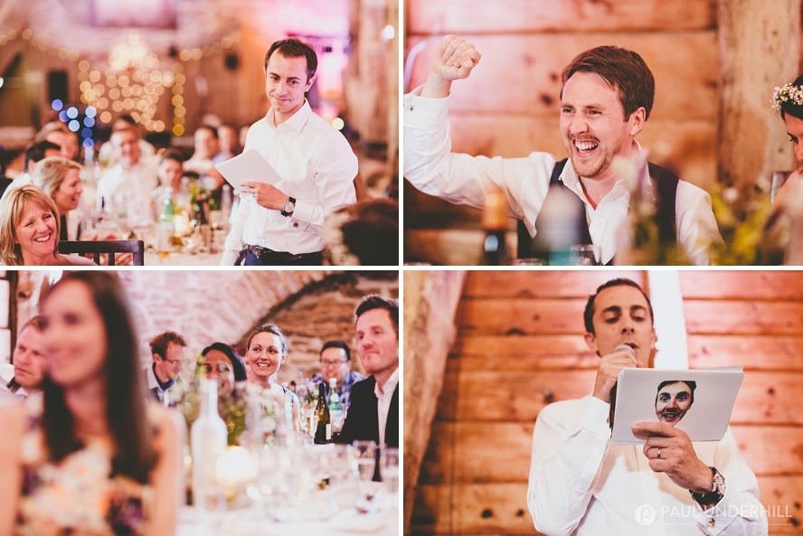 Bestman speech Dorset wedding