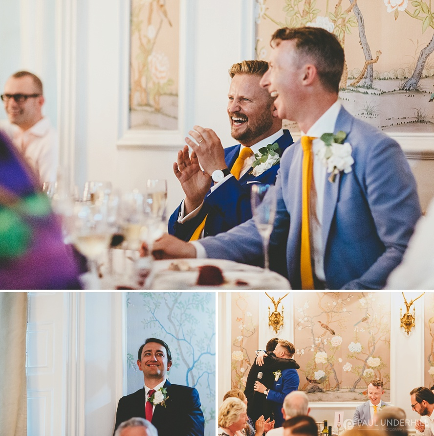 Candid photos of grooms