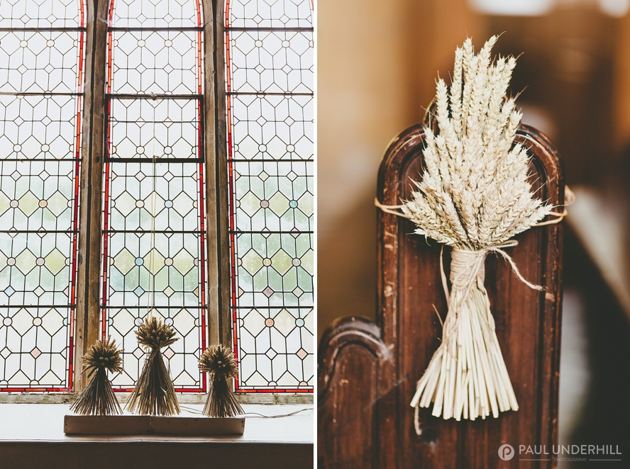 Country themed wedding decorations