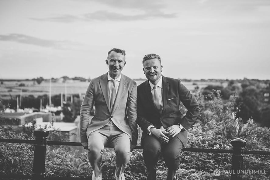 Creative portraits weddings