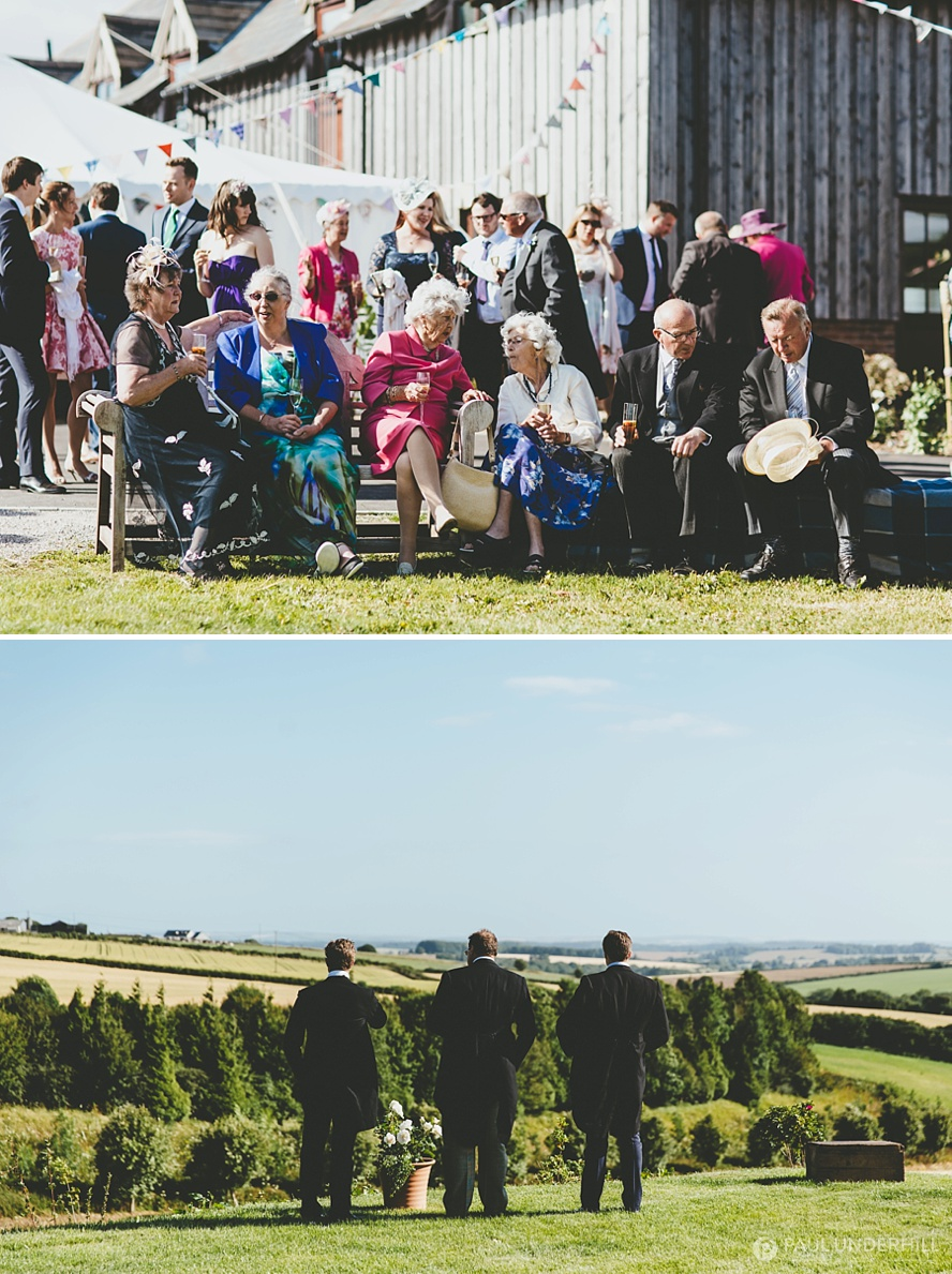 Creative reportage wedding photographers
