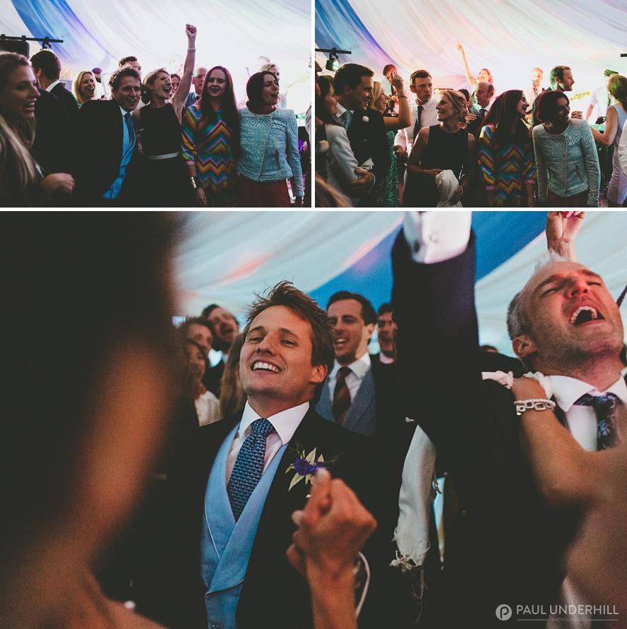 Creative wedding photography dancing