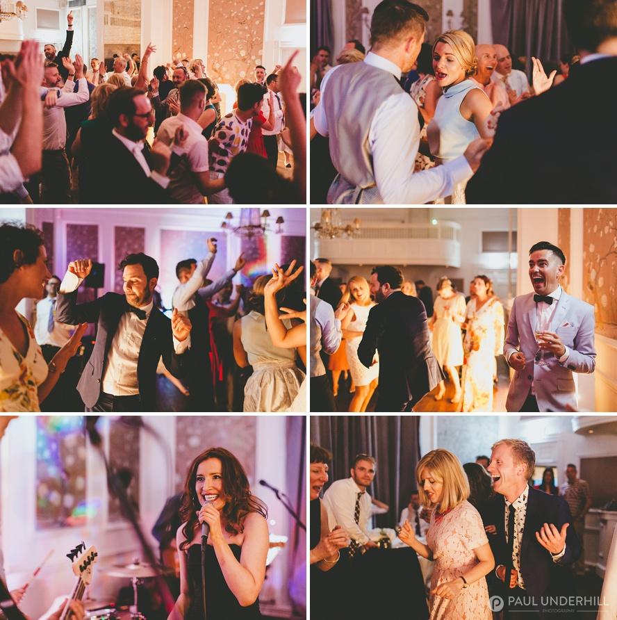 Dancing at gay wedding