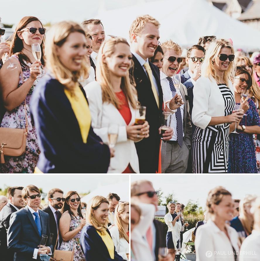 Documentary photographer Dorset weddings