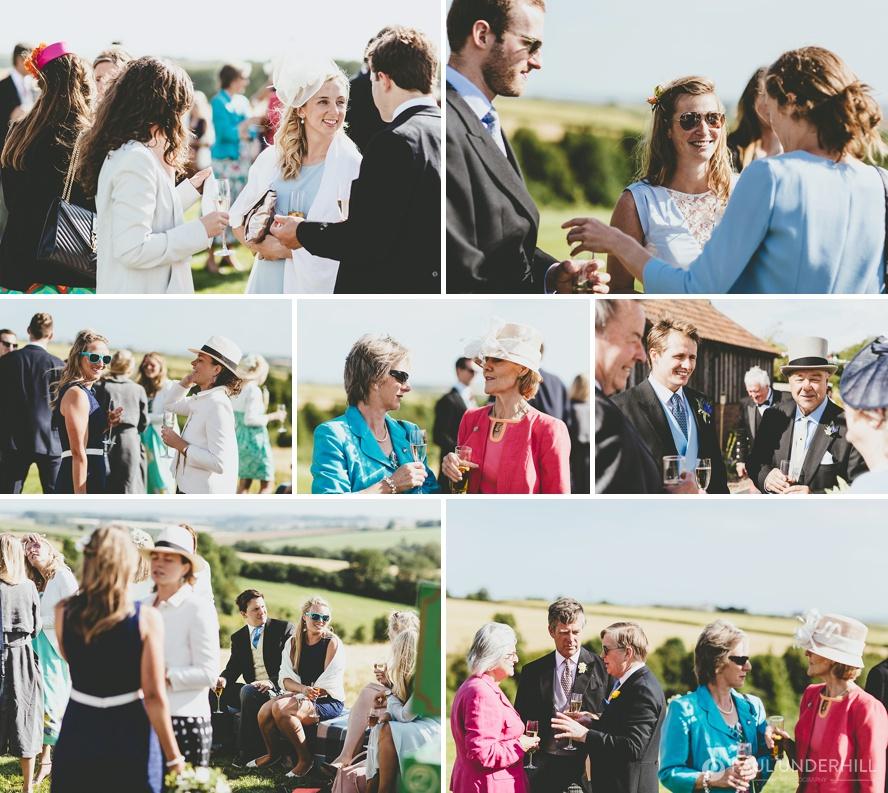Documentary photography of wedding reception