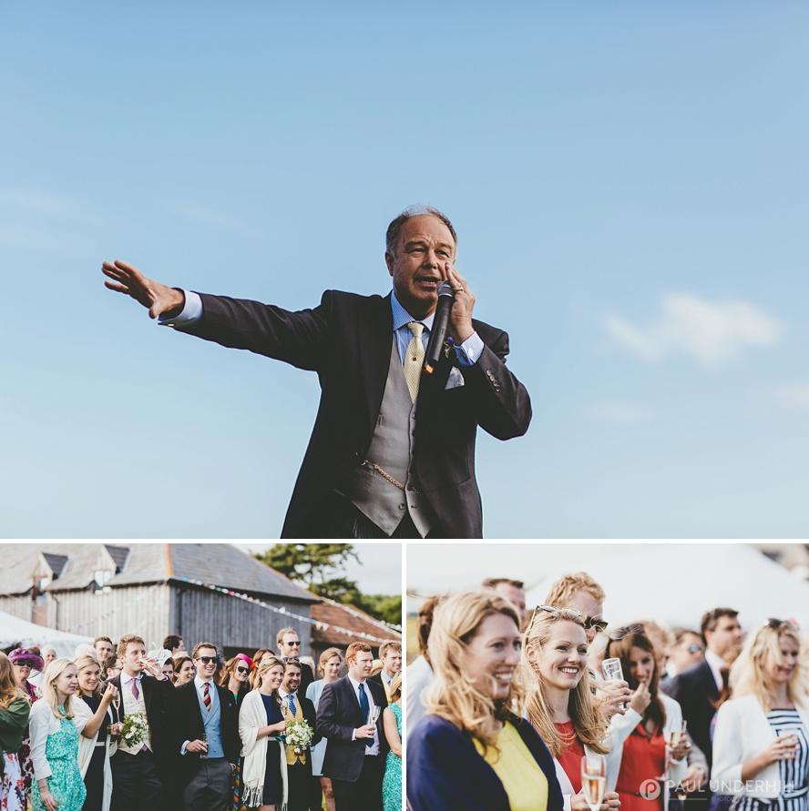 Documentary wedding photographer in Dorset
