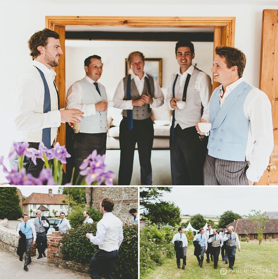Dorset documentary wedding photographers