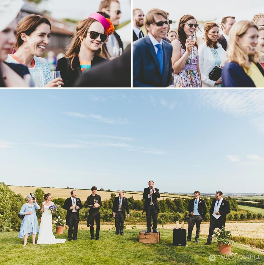 Dorset farm wedding photography