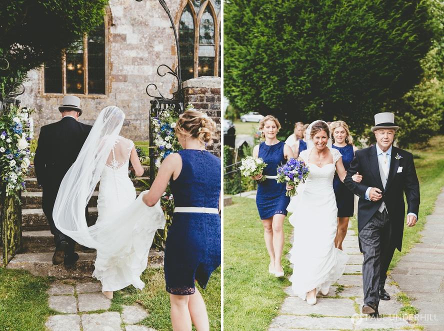 Dorset reportage wedding photography