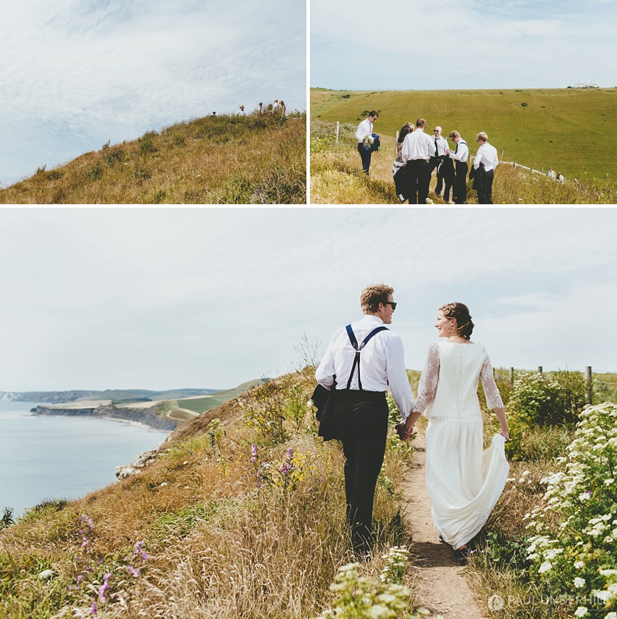 Dorset summer wedding photography