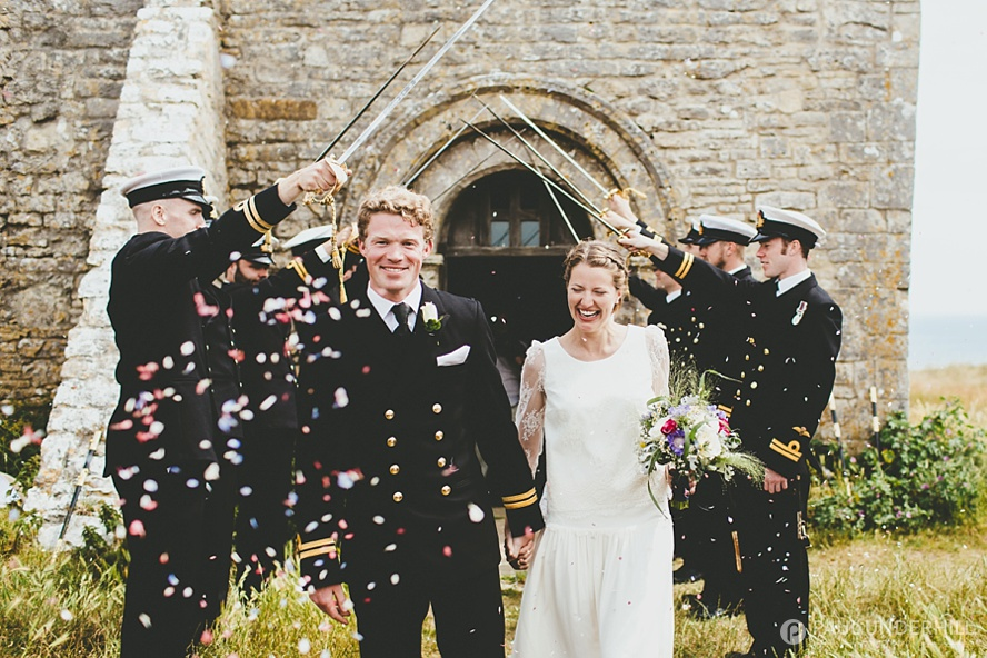Dorset wedding at St Aldhelms Chapel