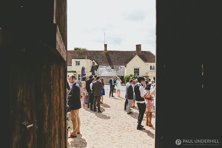 Dorset wedding in barn Sherborne