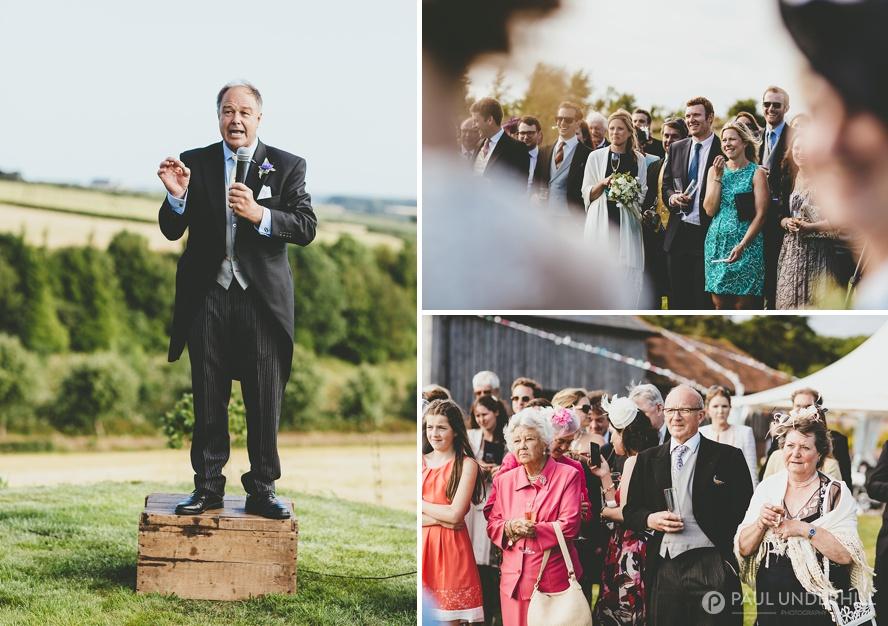 Dorset wedding outdoor on farm