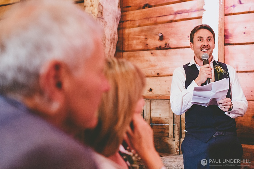 Dorset wedding photography speeches