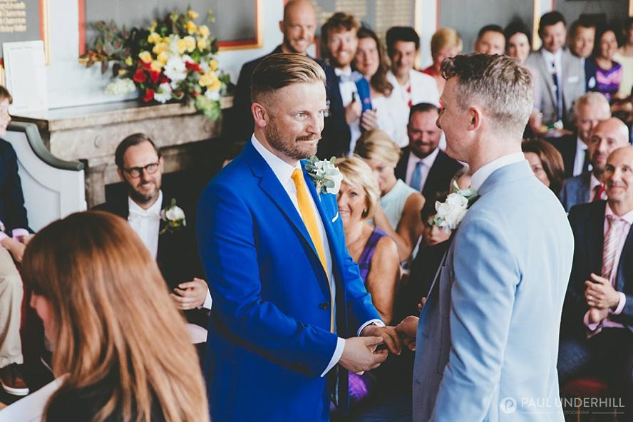 Emotional moments captured during wedding