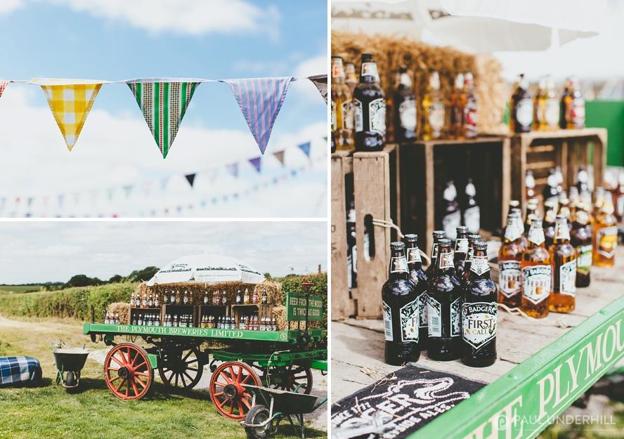 Farm wedding in Dorset
