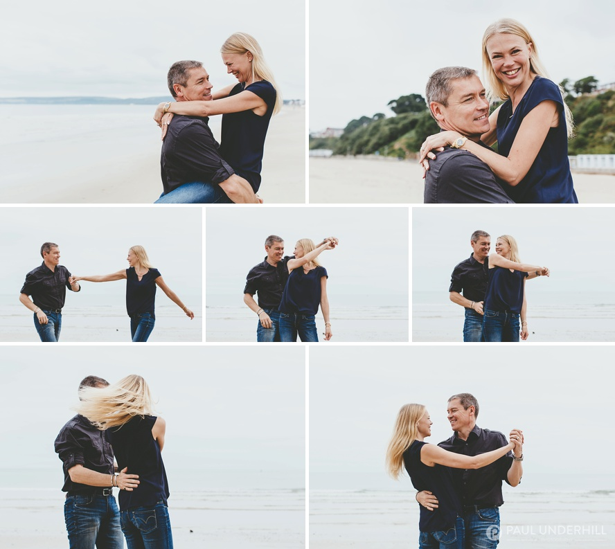 Fun couples photography Hampshire