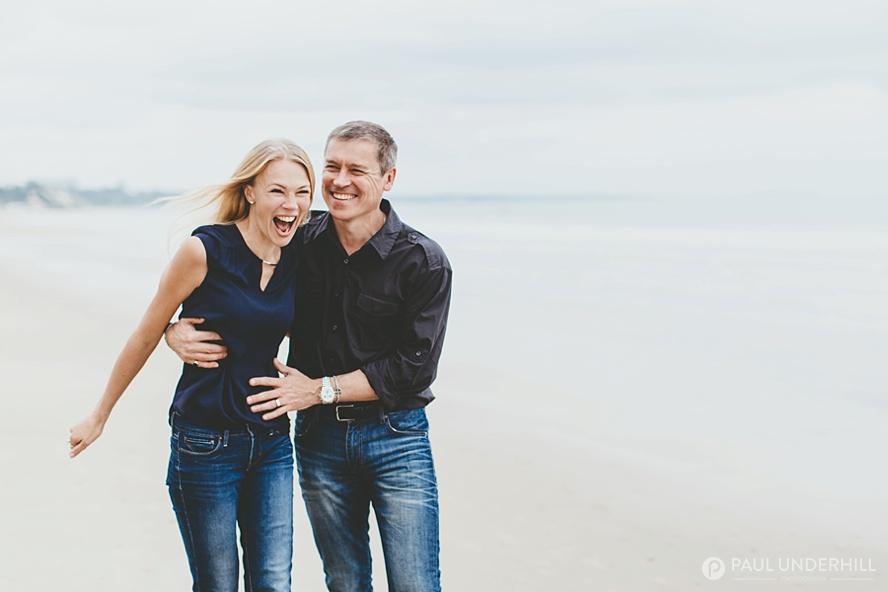 Fun couples portrait shoot