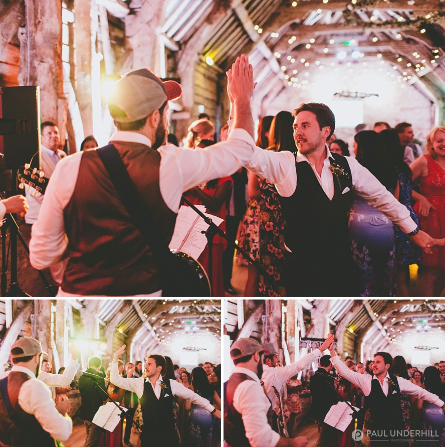 Fun moments captured at wedding