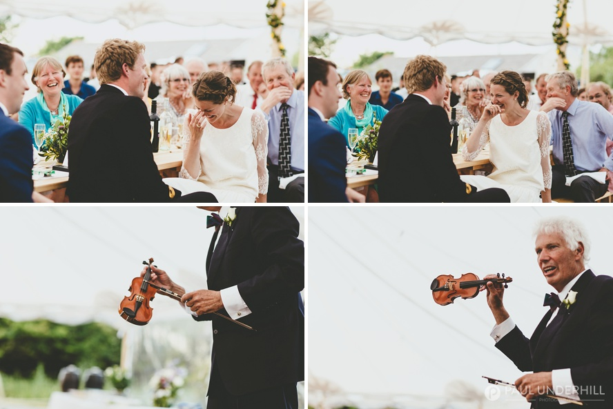 Fun moments captured during Dorset wedding