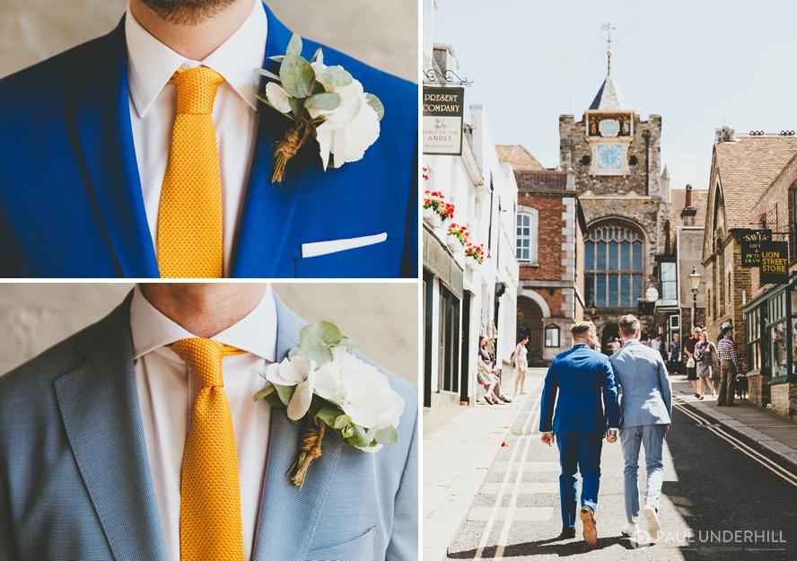 Gay men wedding fashion