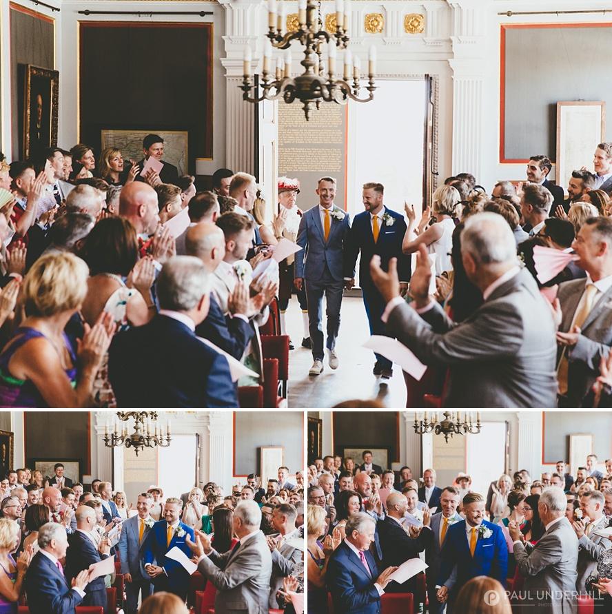 Gay wedding photographers London