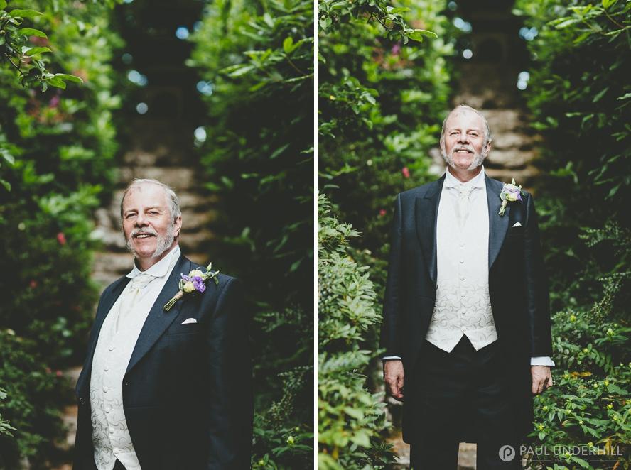 Gay wedding portrait