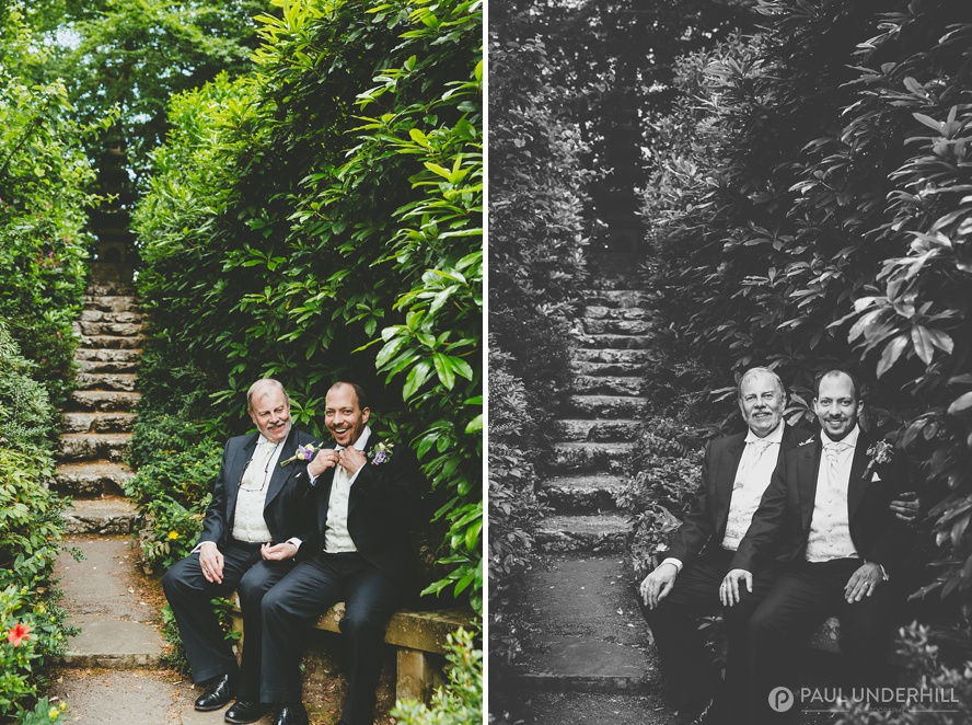 Informal portraits gay couples