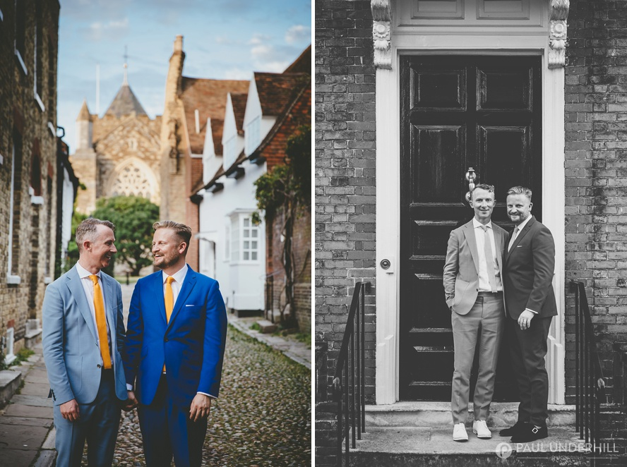 London photographers gay wedding portraits