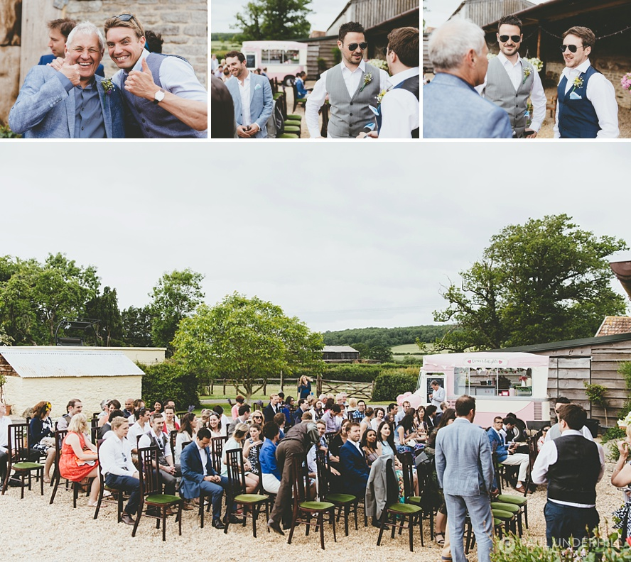 Lower Stockbridge Farm Sherborne wedding