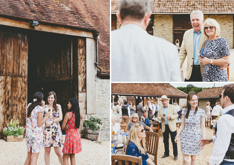 Lower Stockbridge Farm wedding