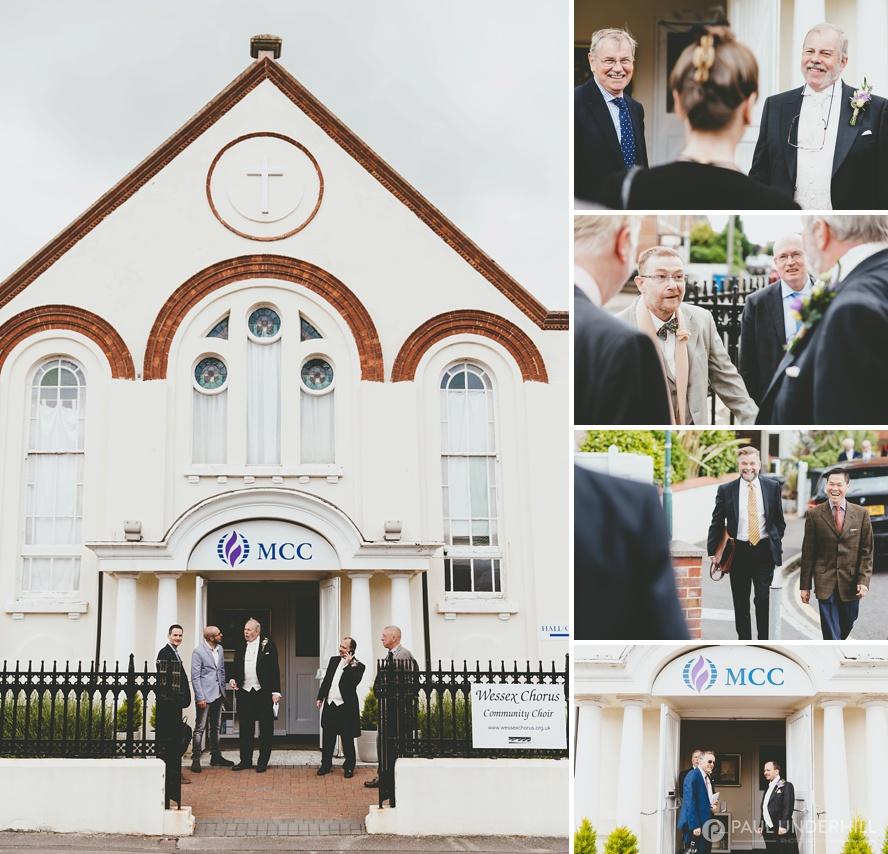 MCC Church Bournemouth wedding