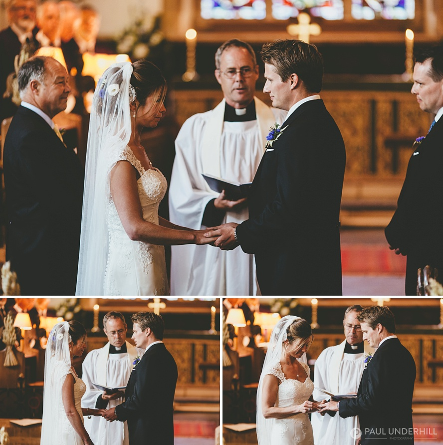 Marriage at Milton Abbas church Dorset