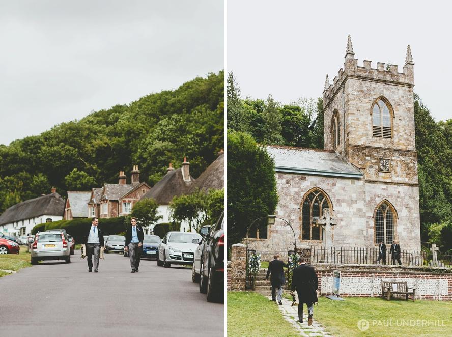 Milton Abbas church Dorset