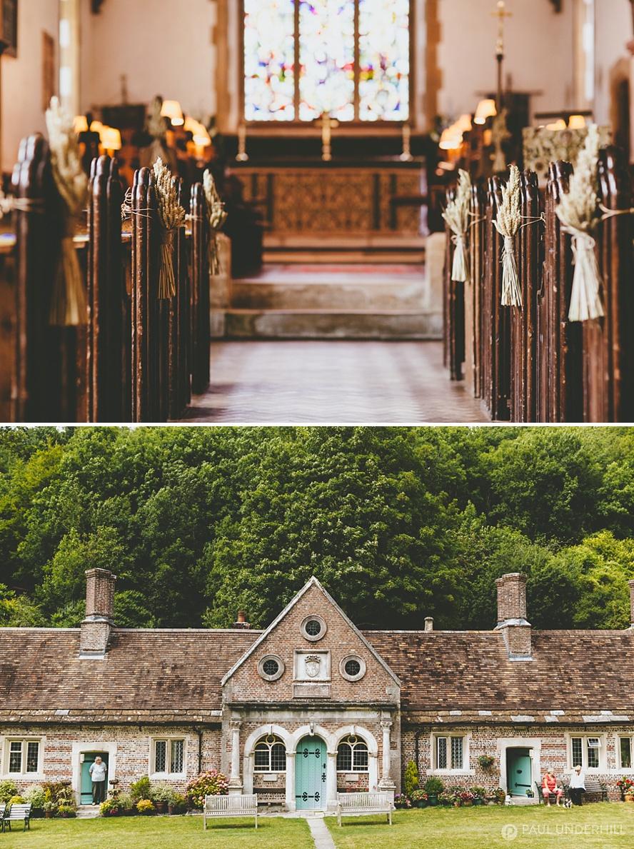 Milton Abbas village in Dorset