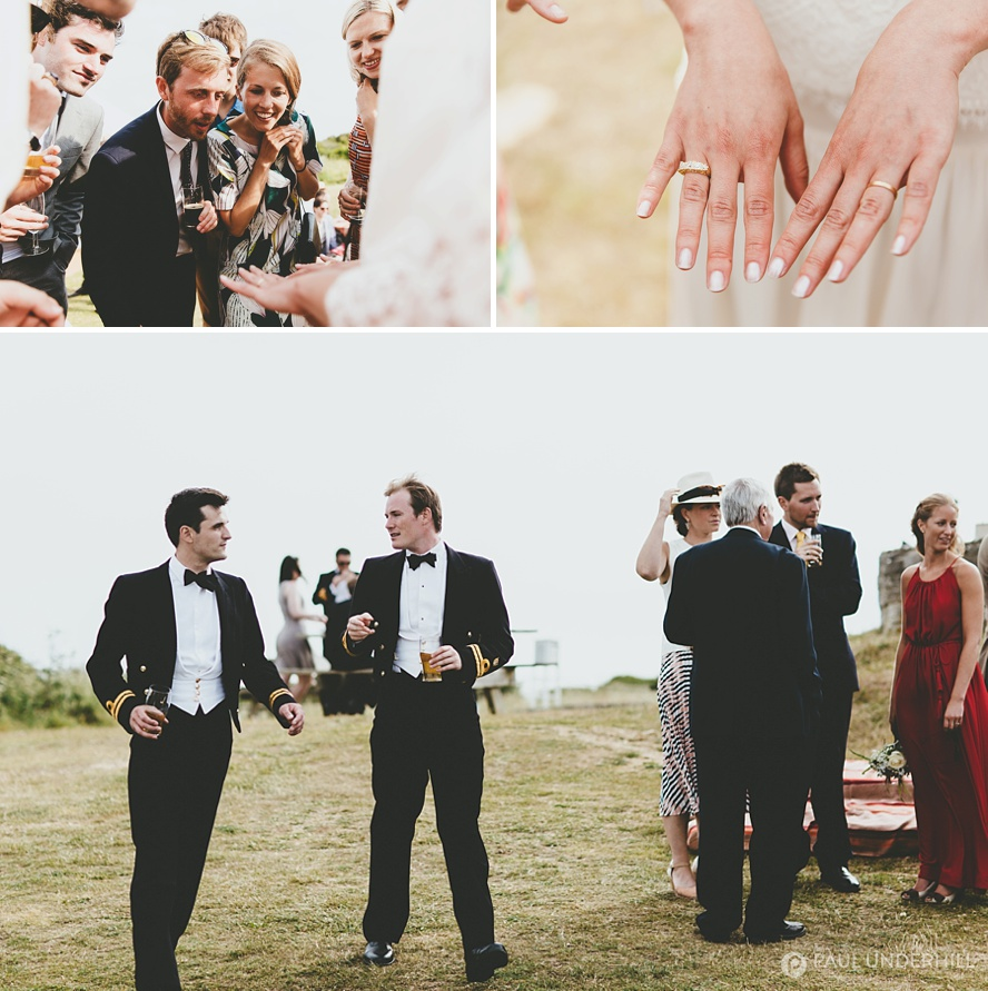 Outdoor wedding Durlston Country Park