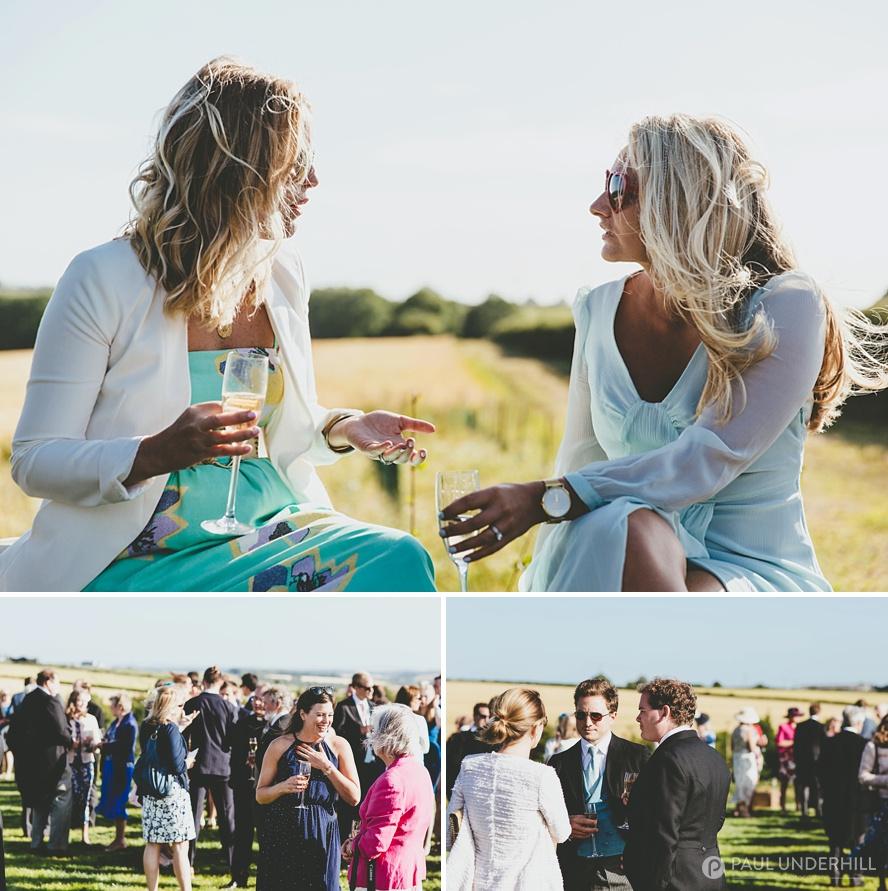 Outdoor weddings in rural Dorset