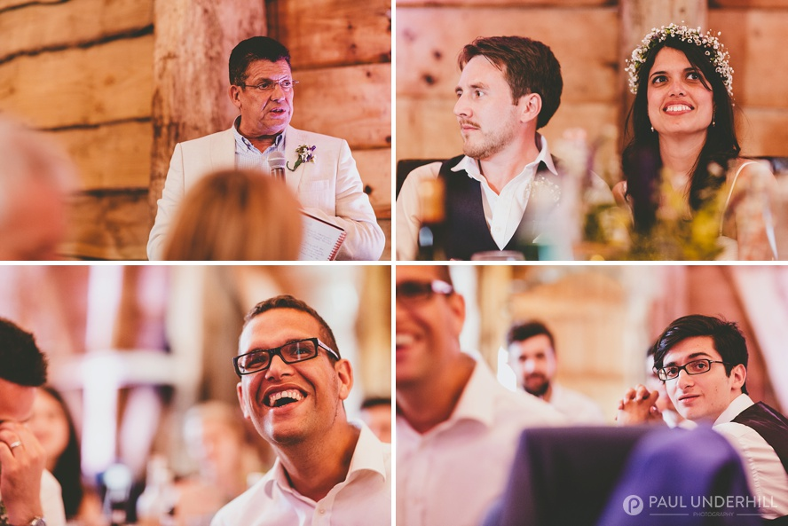 Reportage photography wedding speech