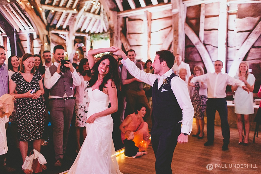 Rustic barn wedding Dorset
