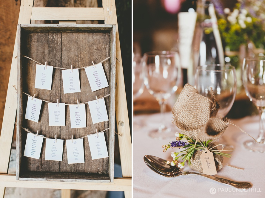Rustic barn wedding decorations