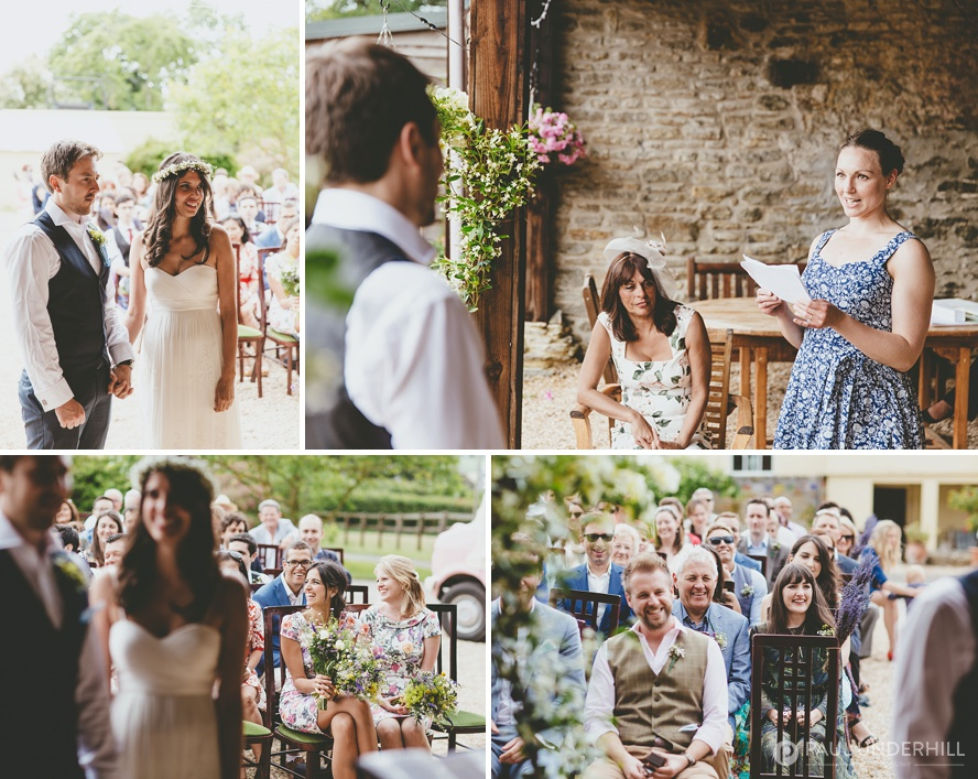 Rustic barn wedding in Dorset
