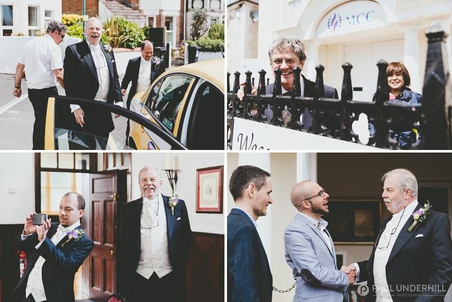 Same sex wedding in Bournemouth