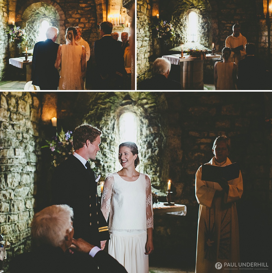 St Aldhelms Chapel marriage ceremony