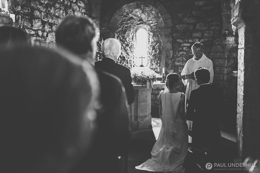 St Aldhelms Chapel wedding blessing