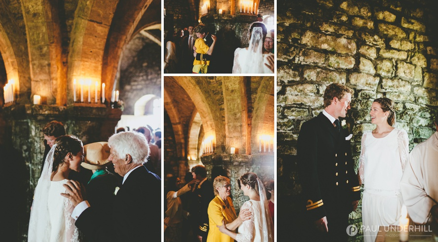 St Aldhelms Chapel wedding photographer