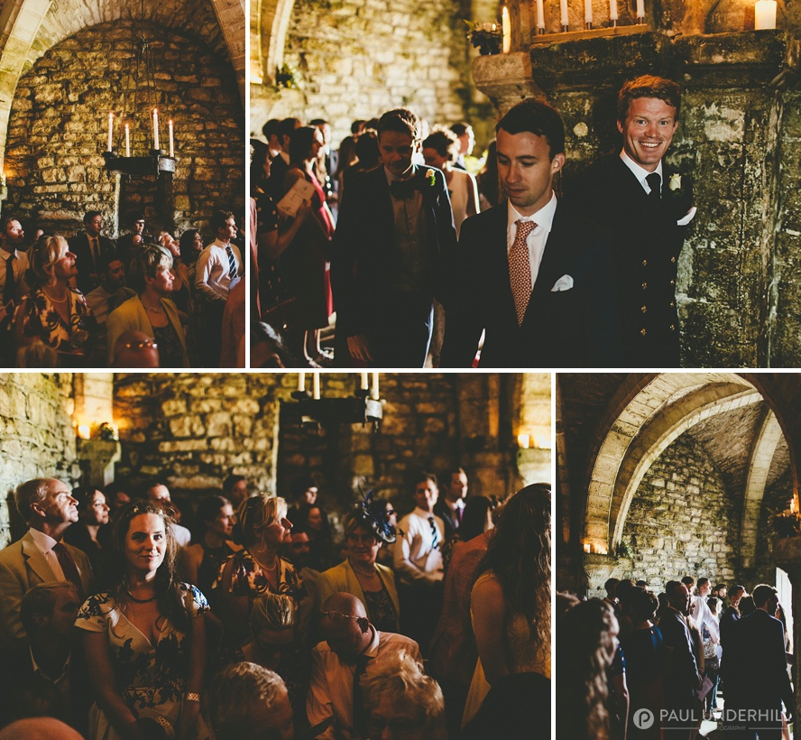 St Aldhelms Chapel wedding
