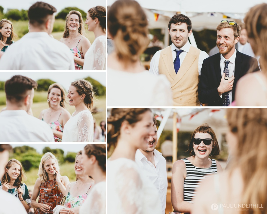 Summer wedding at Durlston Country Park