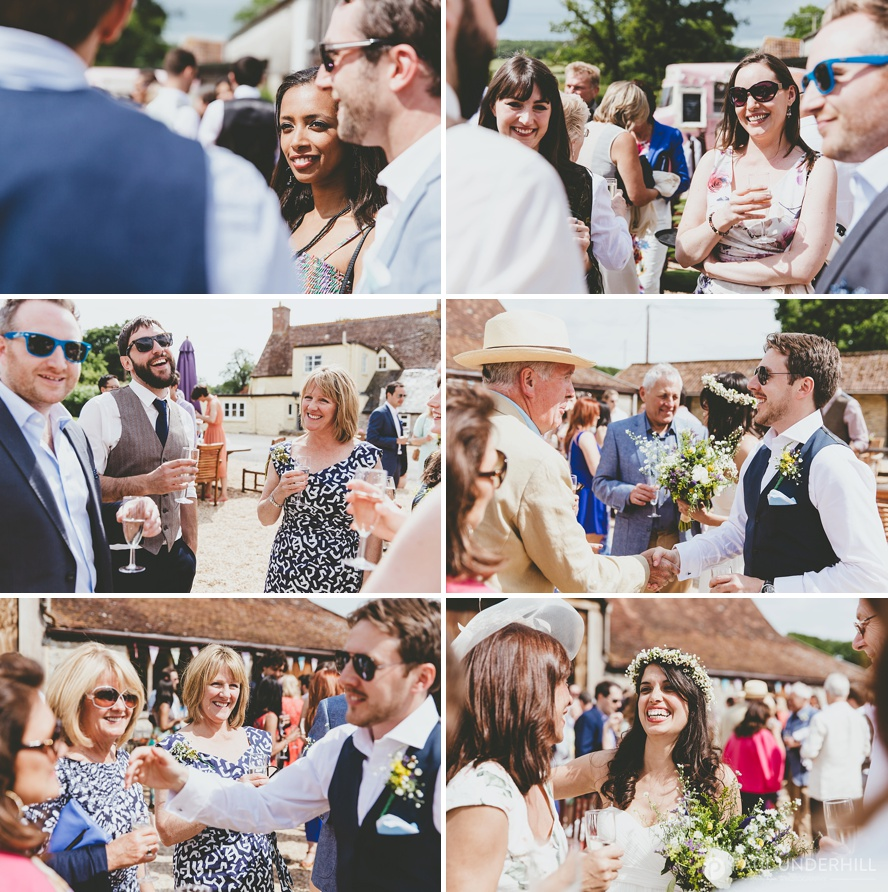 Summer wedding in Dorset
